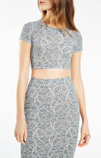 Bridette Floral Lace Two-Piece Dress