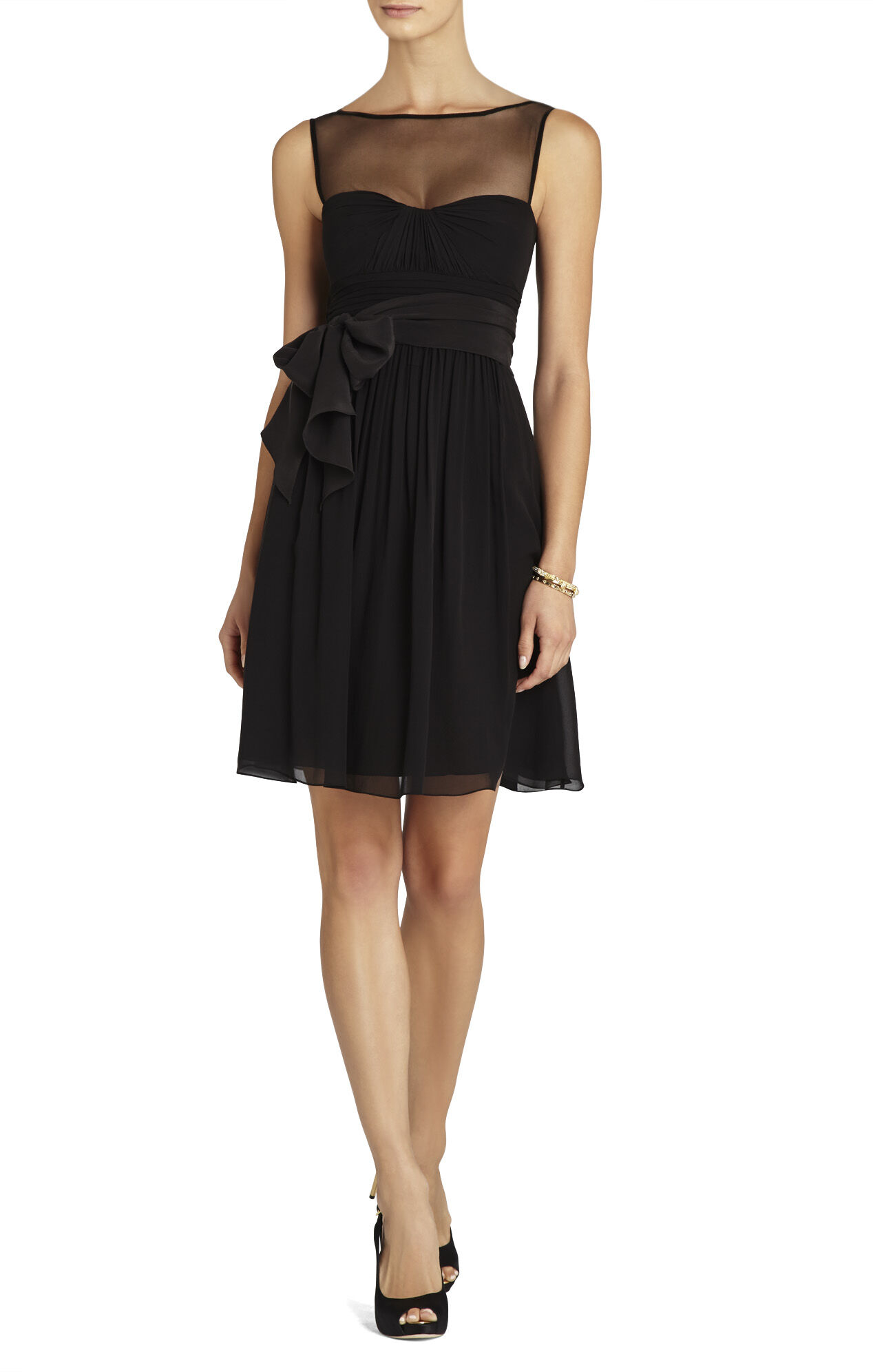 Phoebe Sleeveless A-Line Dress