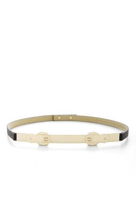 Double-Buckle Waist Belt