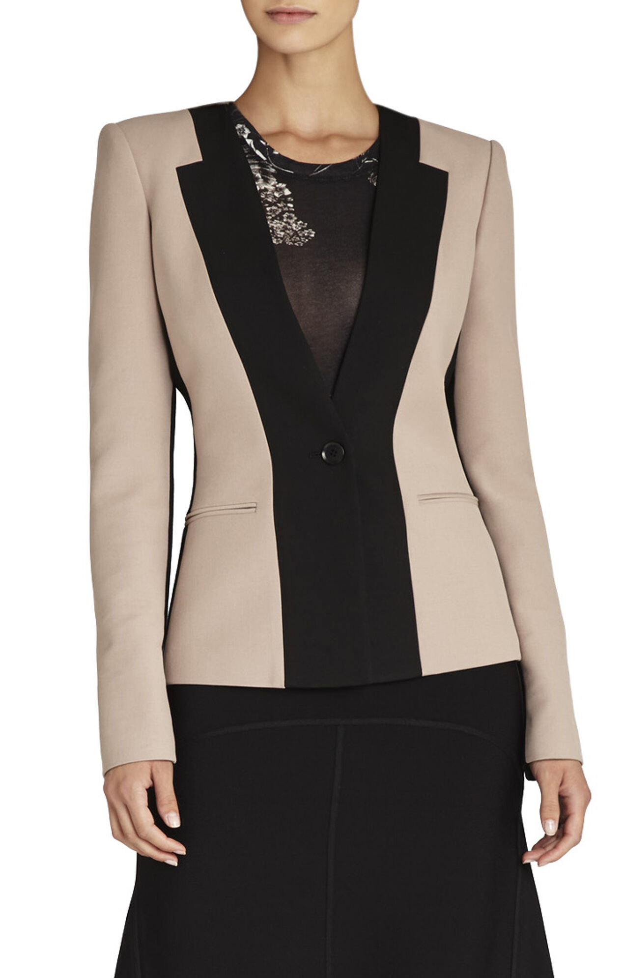 Rowe Color-Blocked Blazer