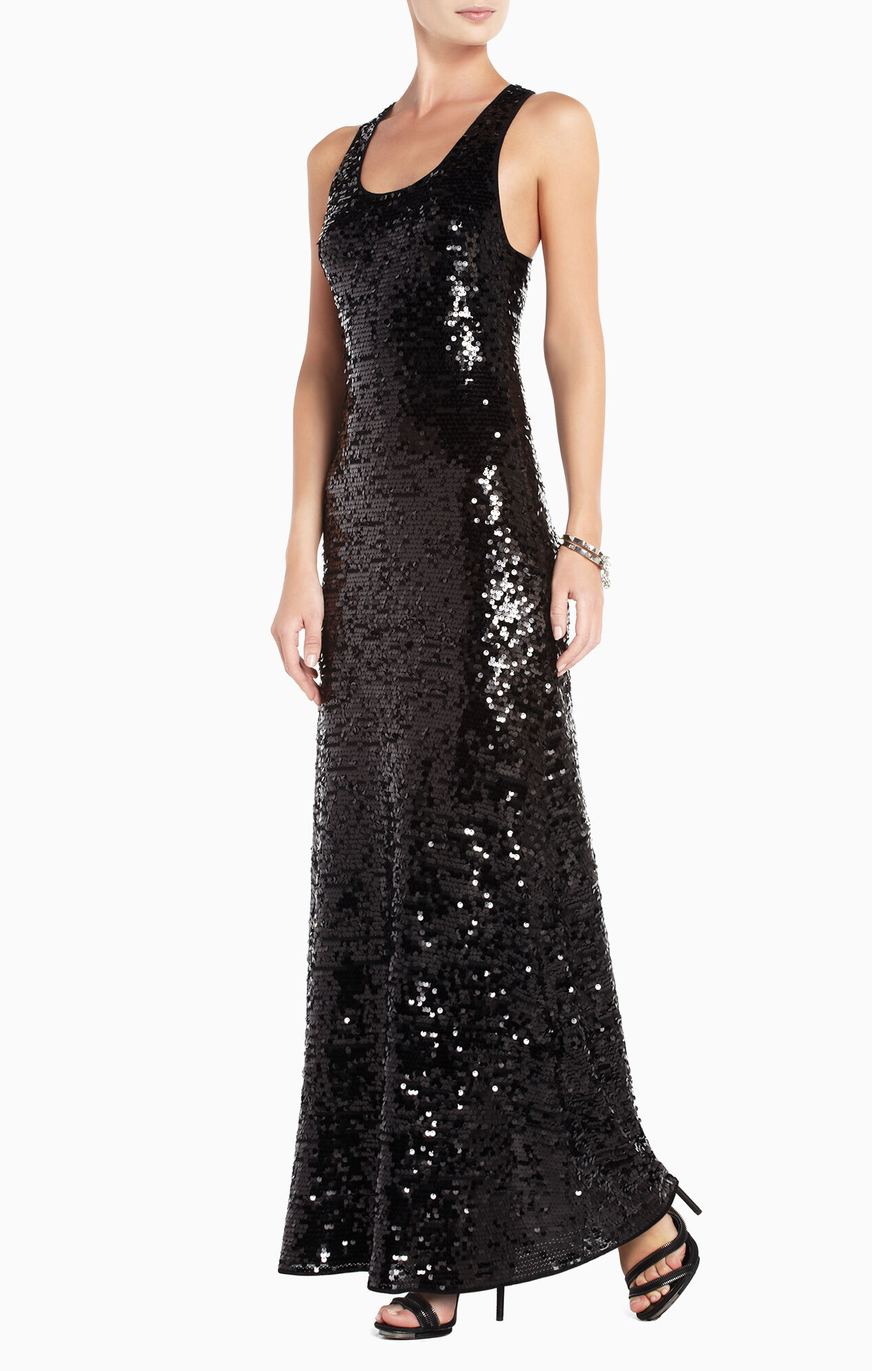 Allure Sequined Maxi Dress