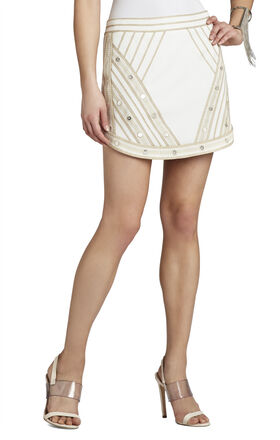 Kanya Embroidered Miniskirt