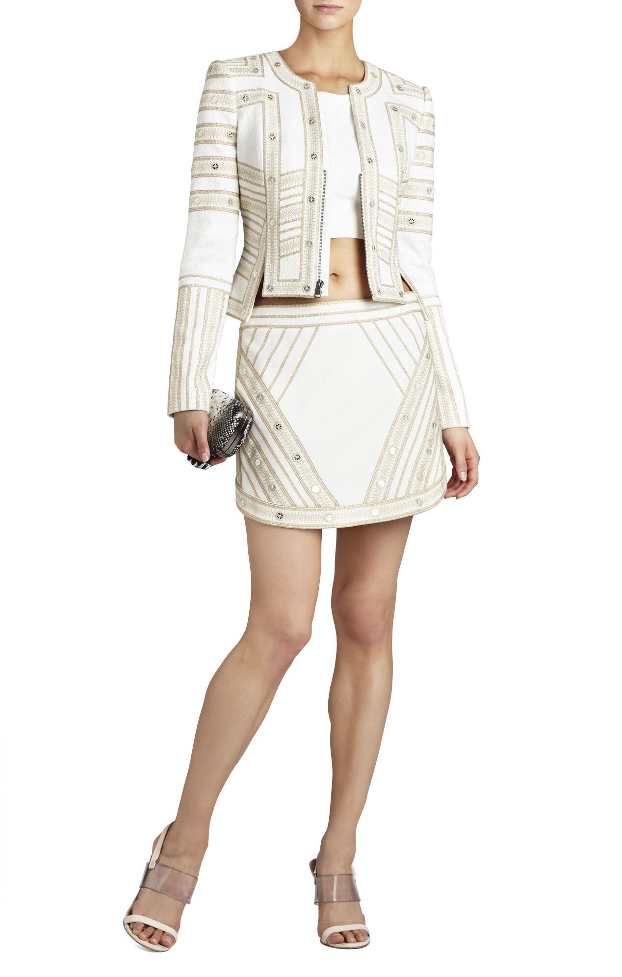 Kanya Embroidered Miniskirt