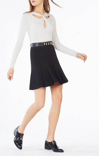 Adrean Cutout Twist Top