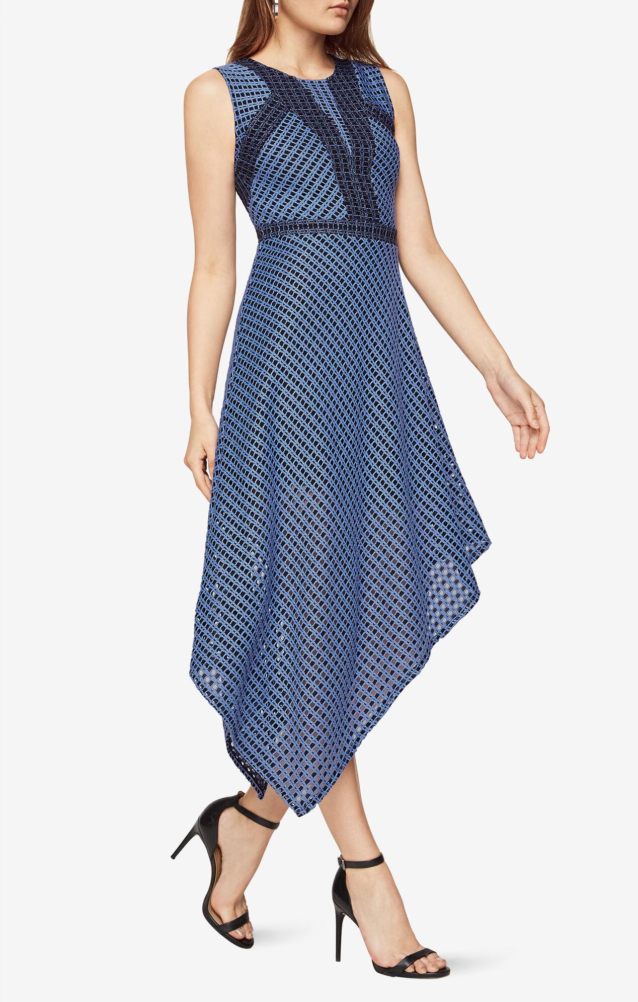 Tracie Asymmetrical Lace Dress