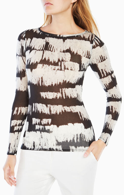 Wylie Long-Sleeve Printed Top