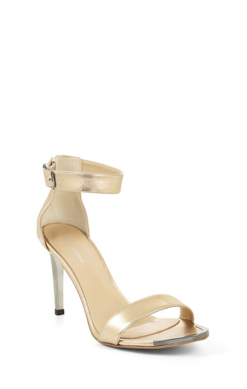 High-Heel Open-Toe Sandal