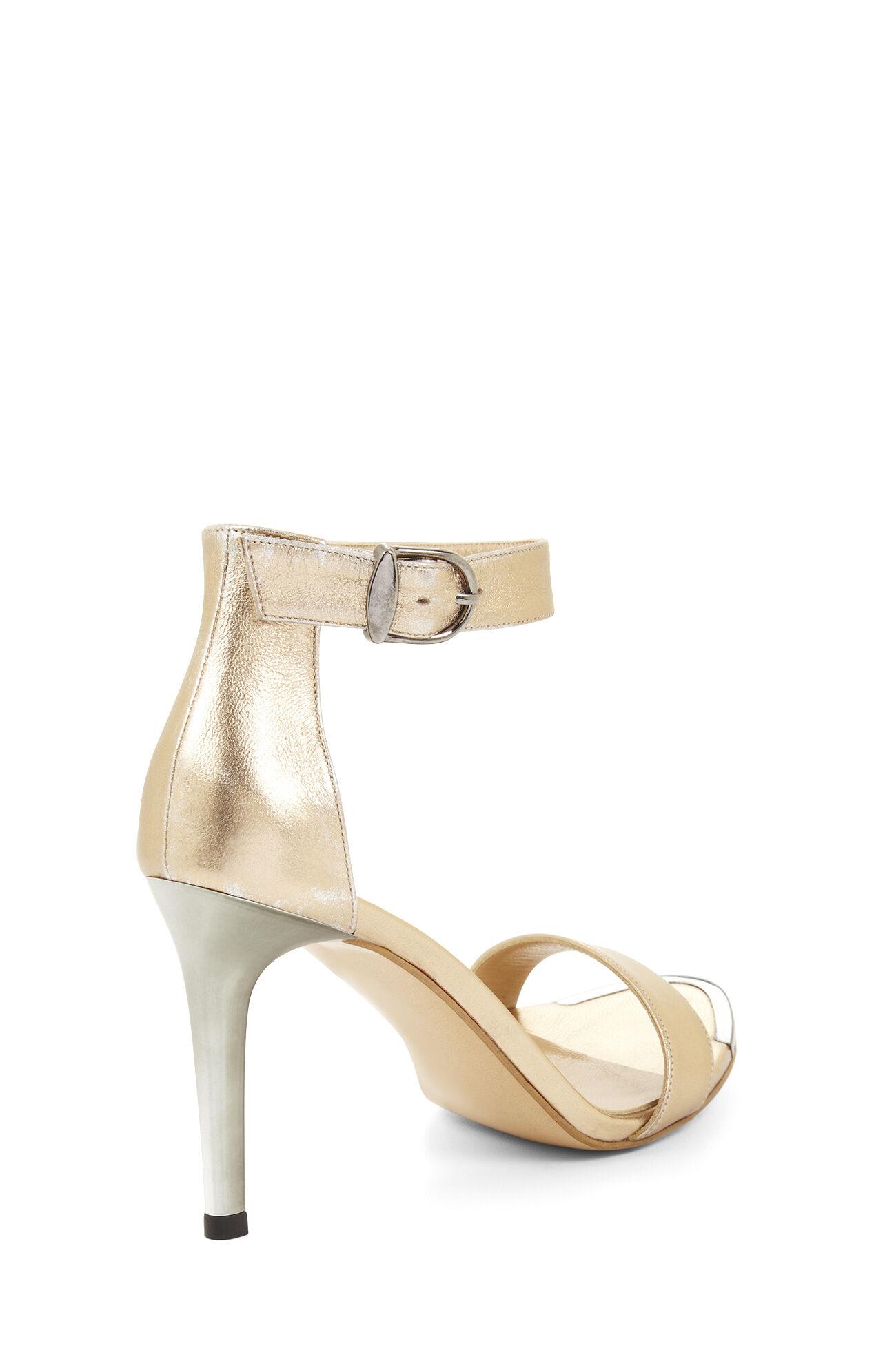 High-Heel Open-Toe Sandal