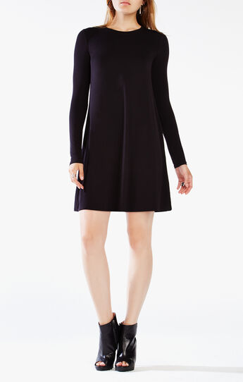 Jeanna Long-Sleeve Dress