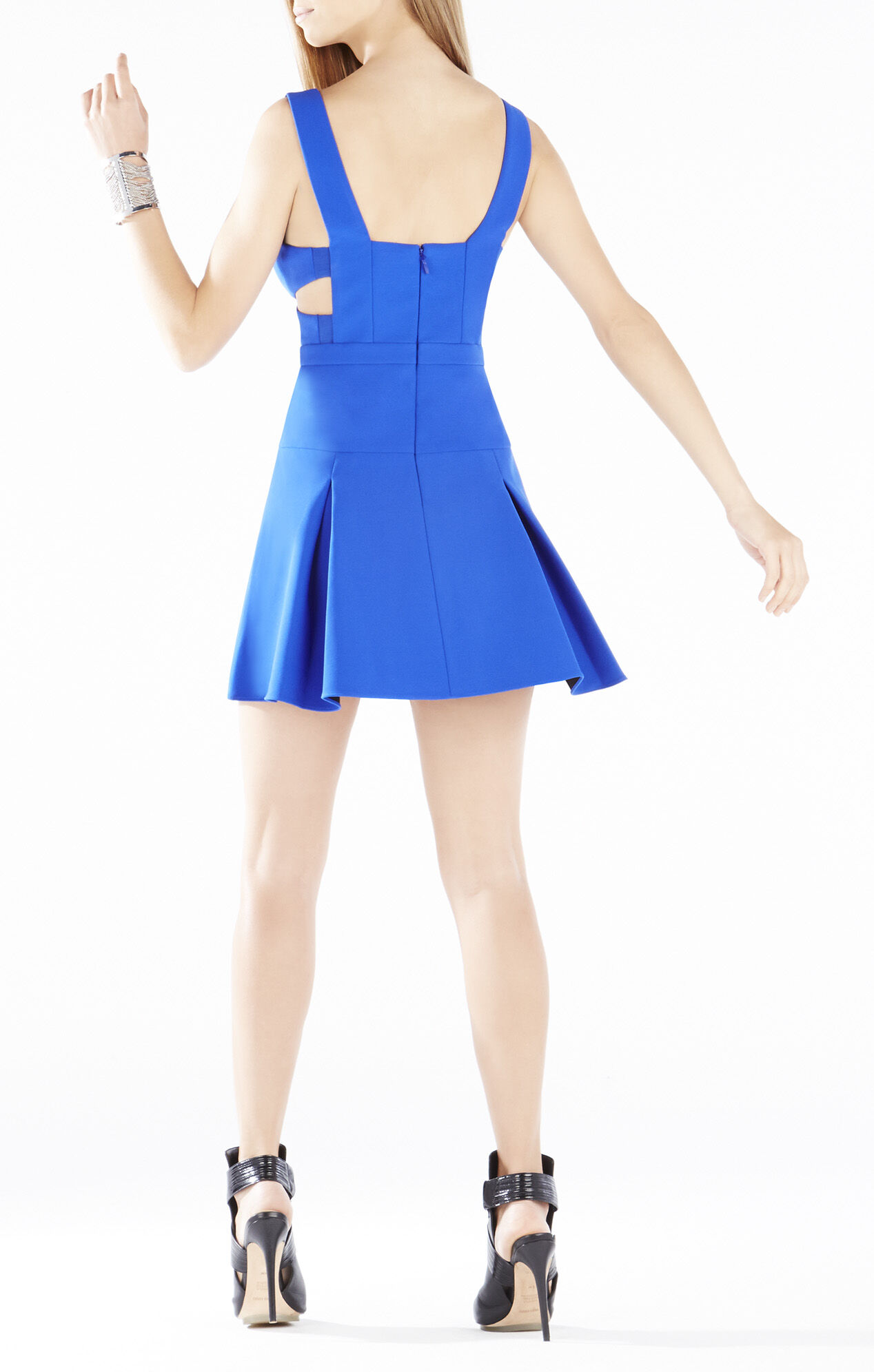 Harlie Cutout Cross Bodice Dress
