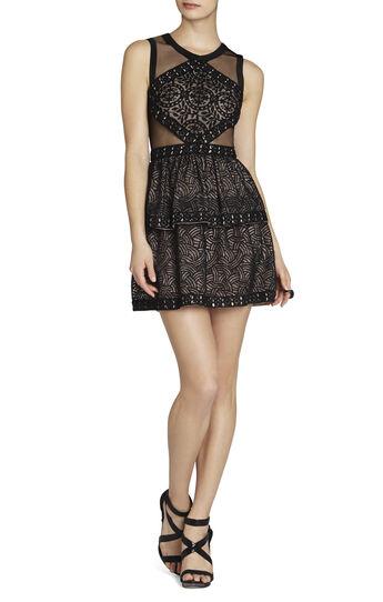 Joselyn Sleeveless Peplum Dress