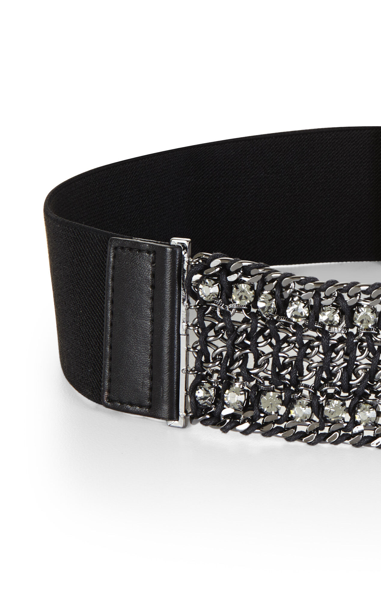 Corded-Chain Waist Belt