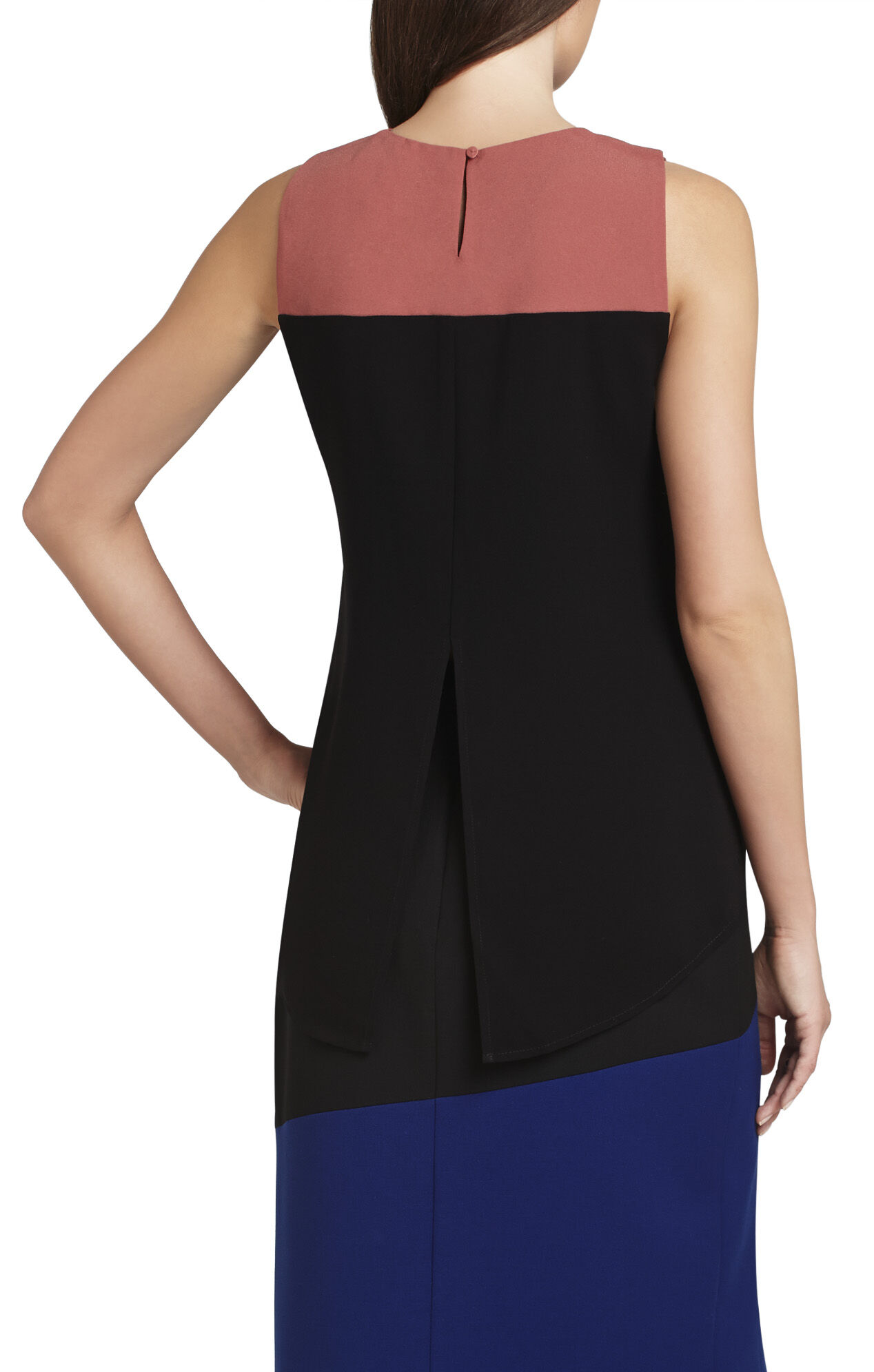 Elin Color-Blocked Cutout Tank