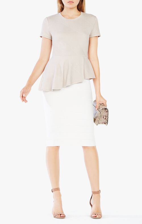 Harlee Asymmetrical Peplum Top