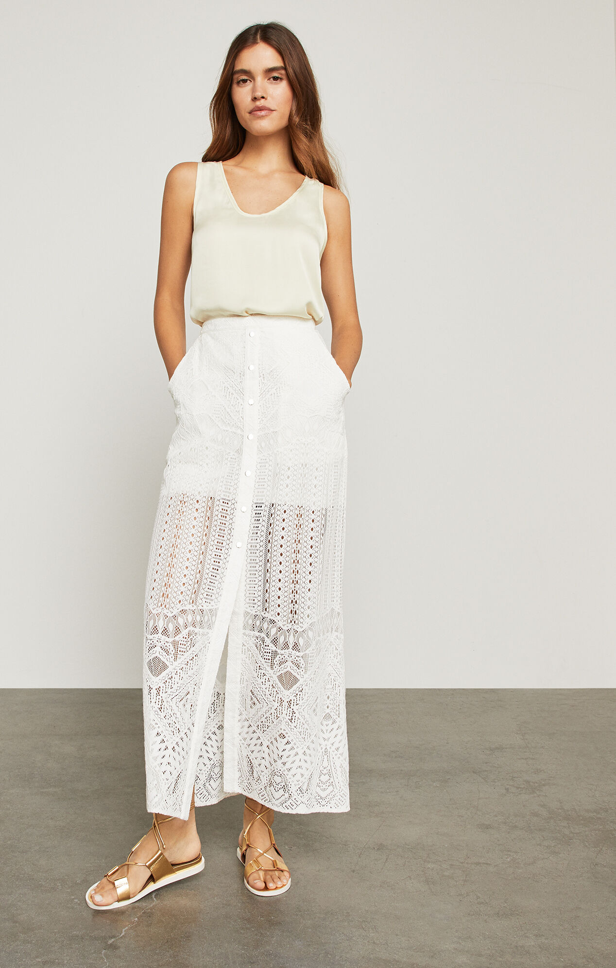 Harper Lace Maxi Skirt