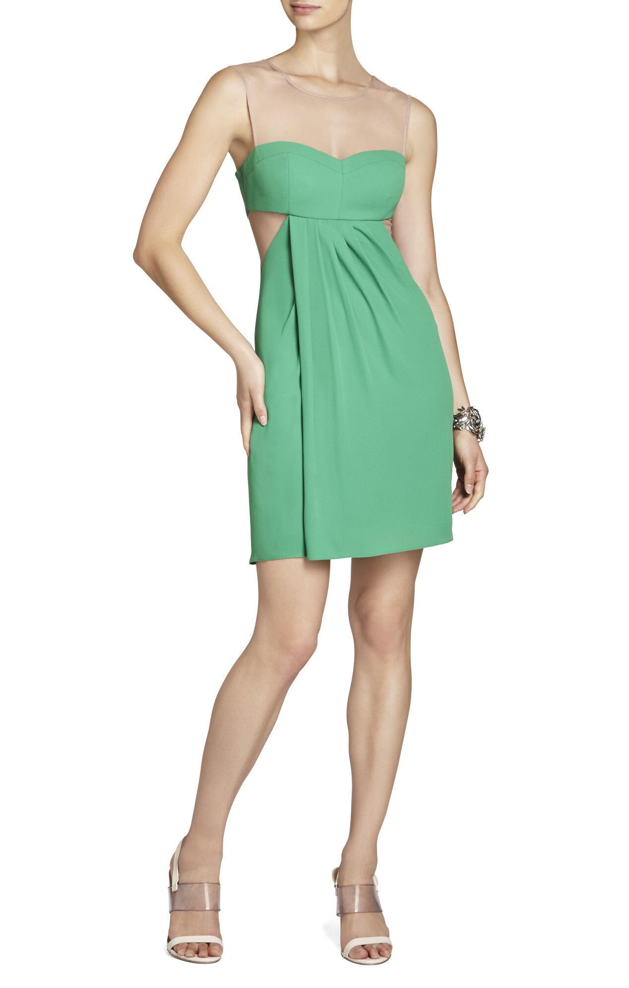 Aicha Sleeveless Draped Skirt Dress