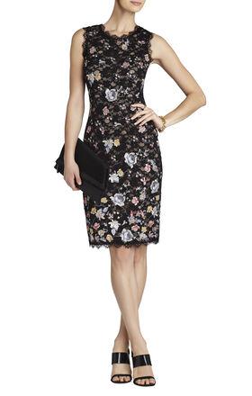 Diane Sleeveless Shift Dress