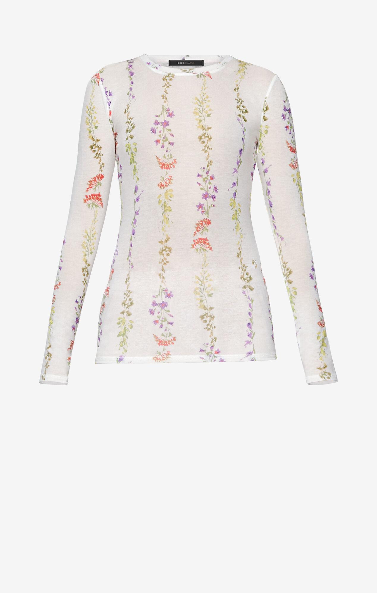 Agda Floral-Print Top