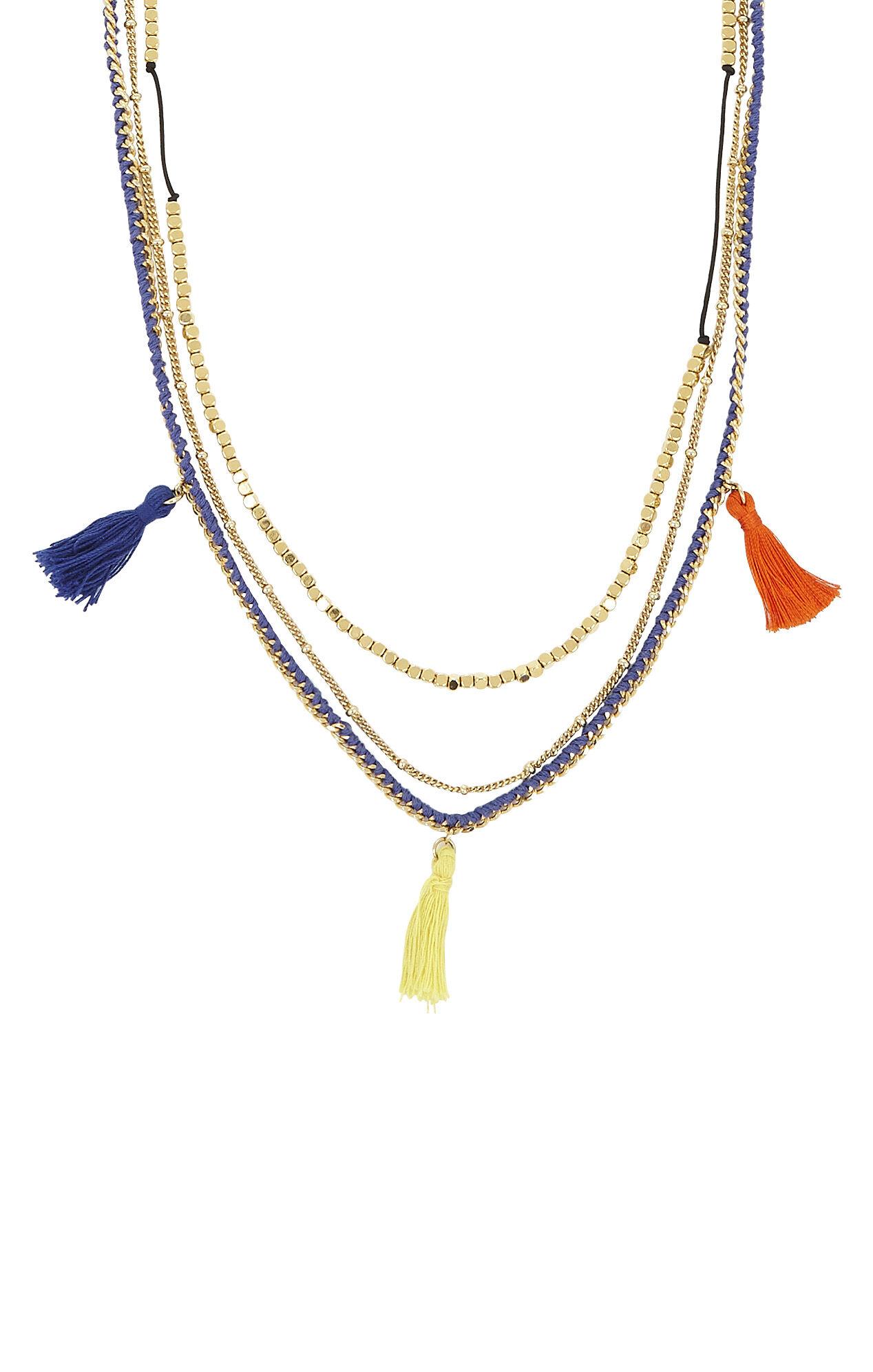 Multi-Chain Bohemian Necklace
