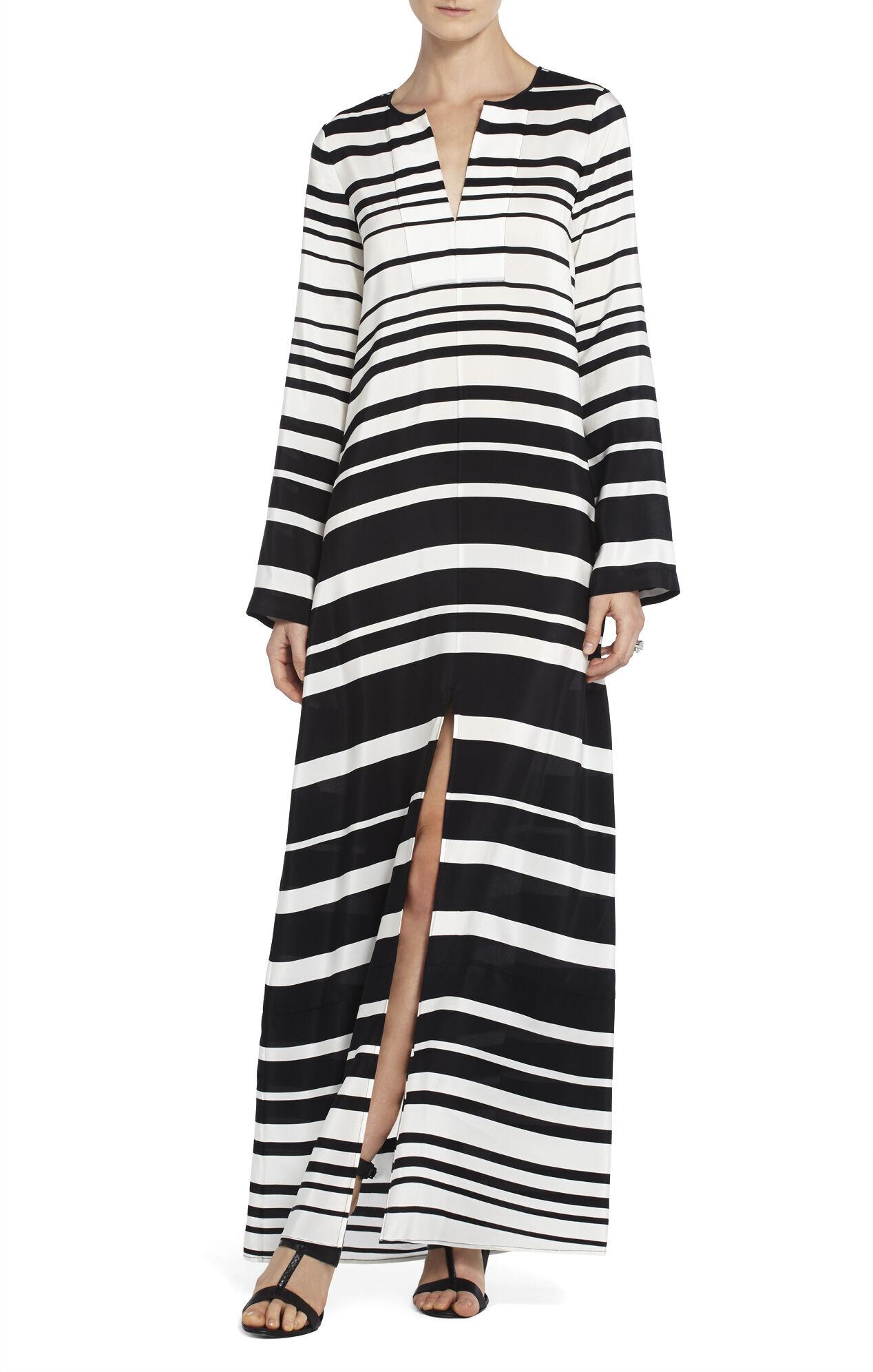 Olivia Printed Caftan Dress