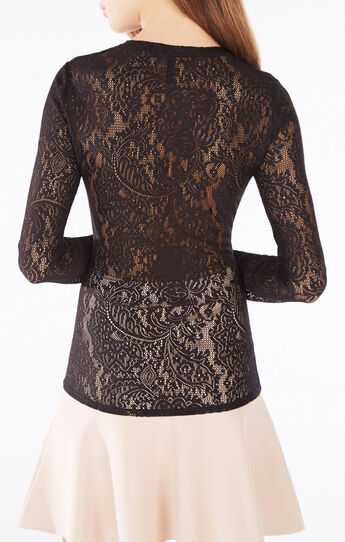 Mikayla Paisley Lace Top