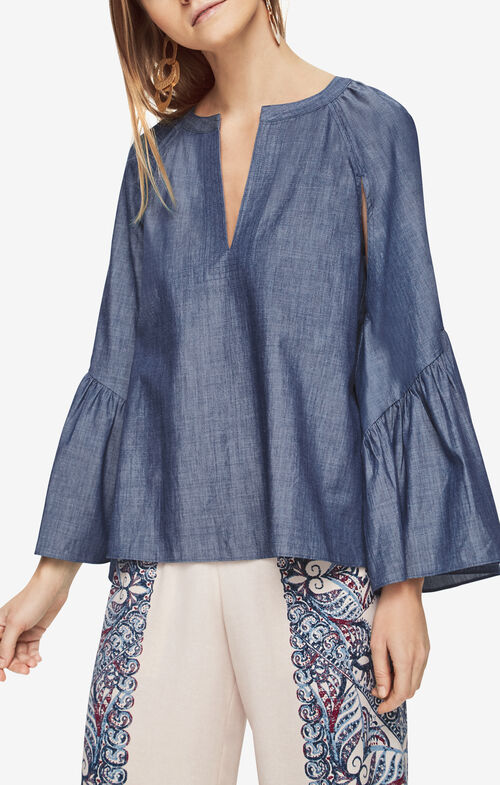 Suzie Chambray Top