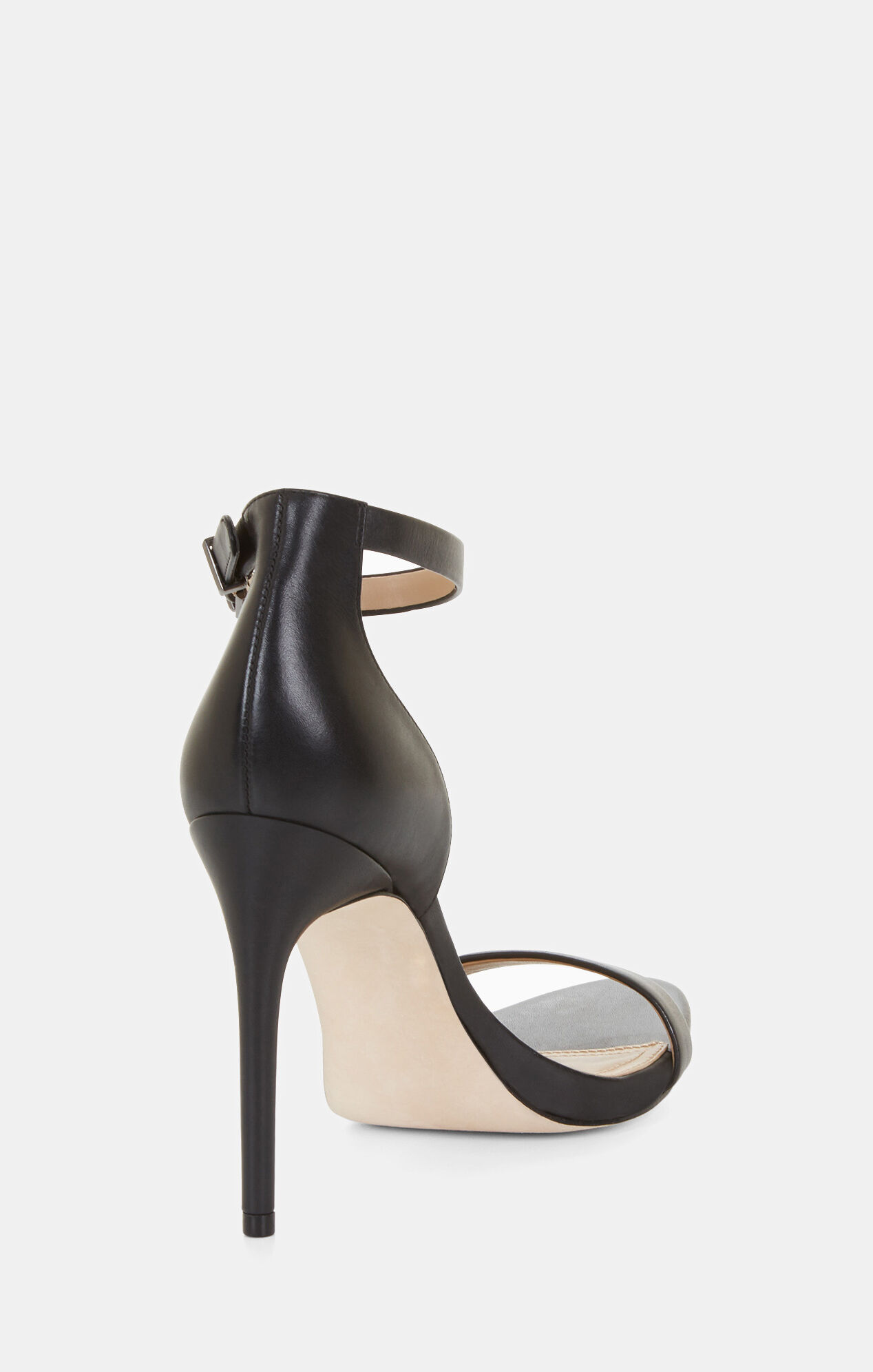 Dona High-Heel Leather Sandal