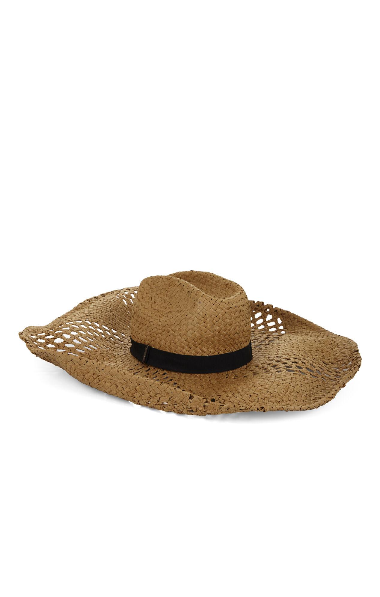 Eyelet-Trim Sombrero