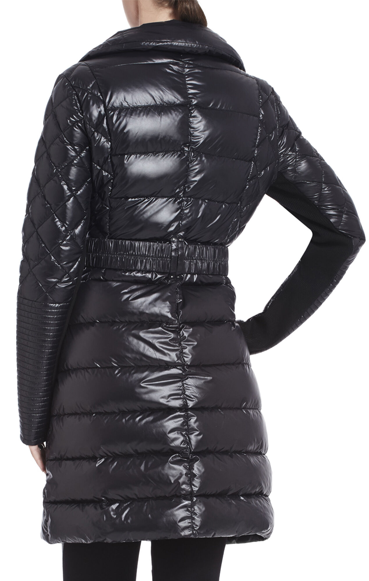 Emily Long Belted Puffer Coat