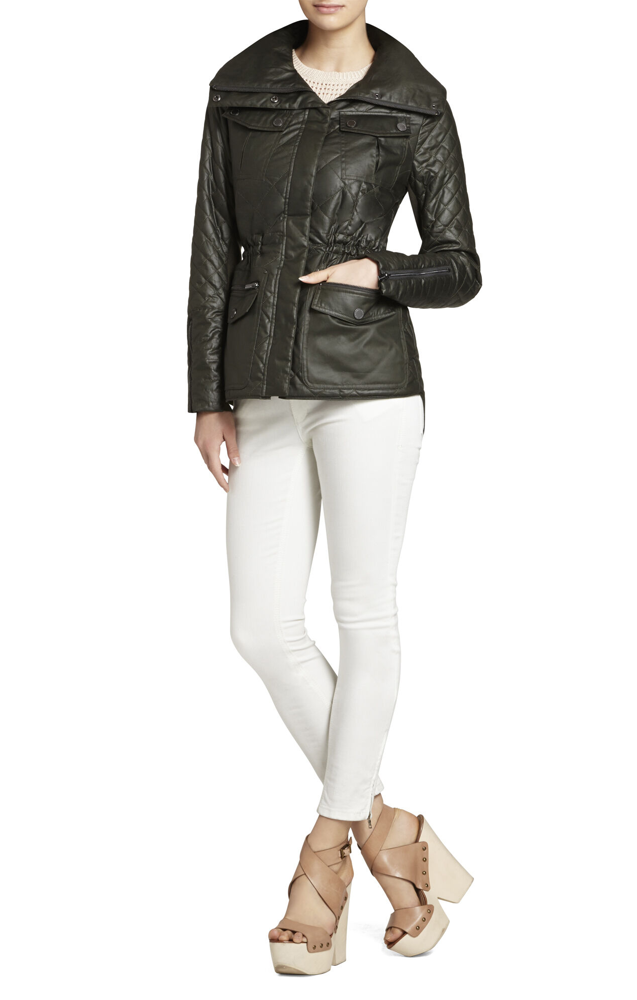 Kelly Quilted Anorak Jacket