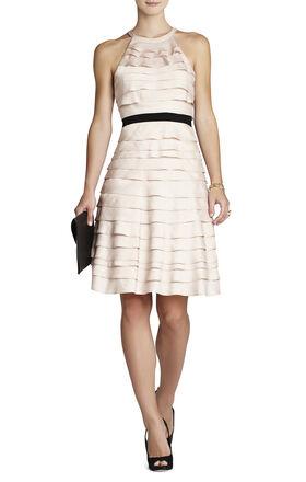Madison Ruffle Tier Halter Dress