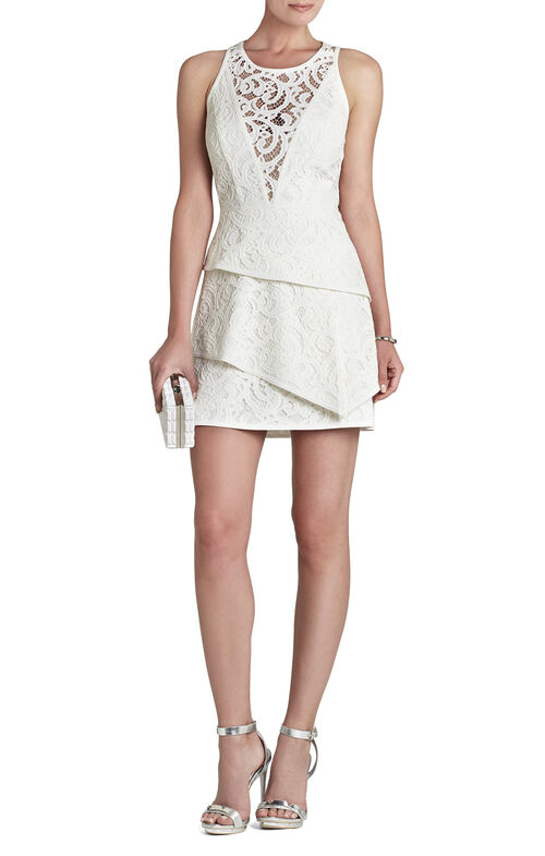 Hanah Sleeveless Asymmetrical-Hem Dress