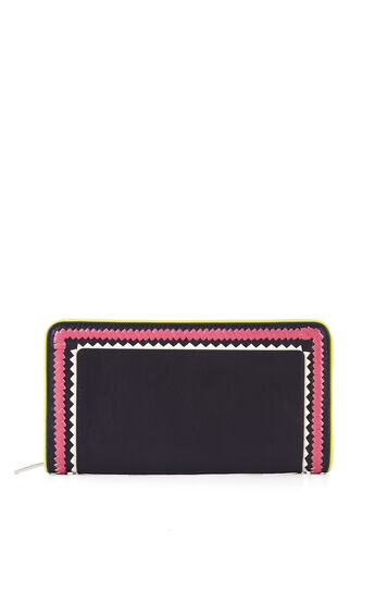 Nieve Whipstitch Detail Continental Wallet