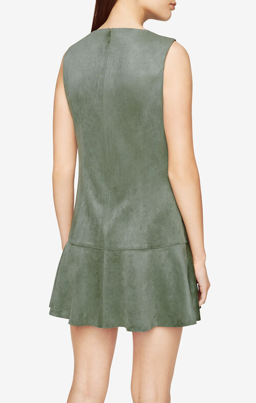 Adelene Faux-Suede Dress