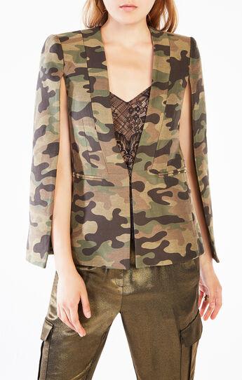 Upas Camouflage Cape