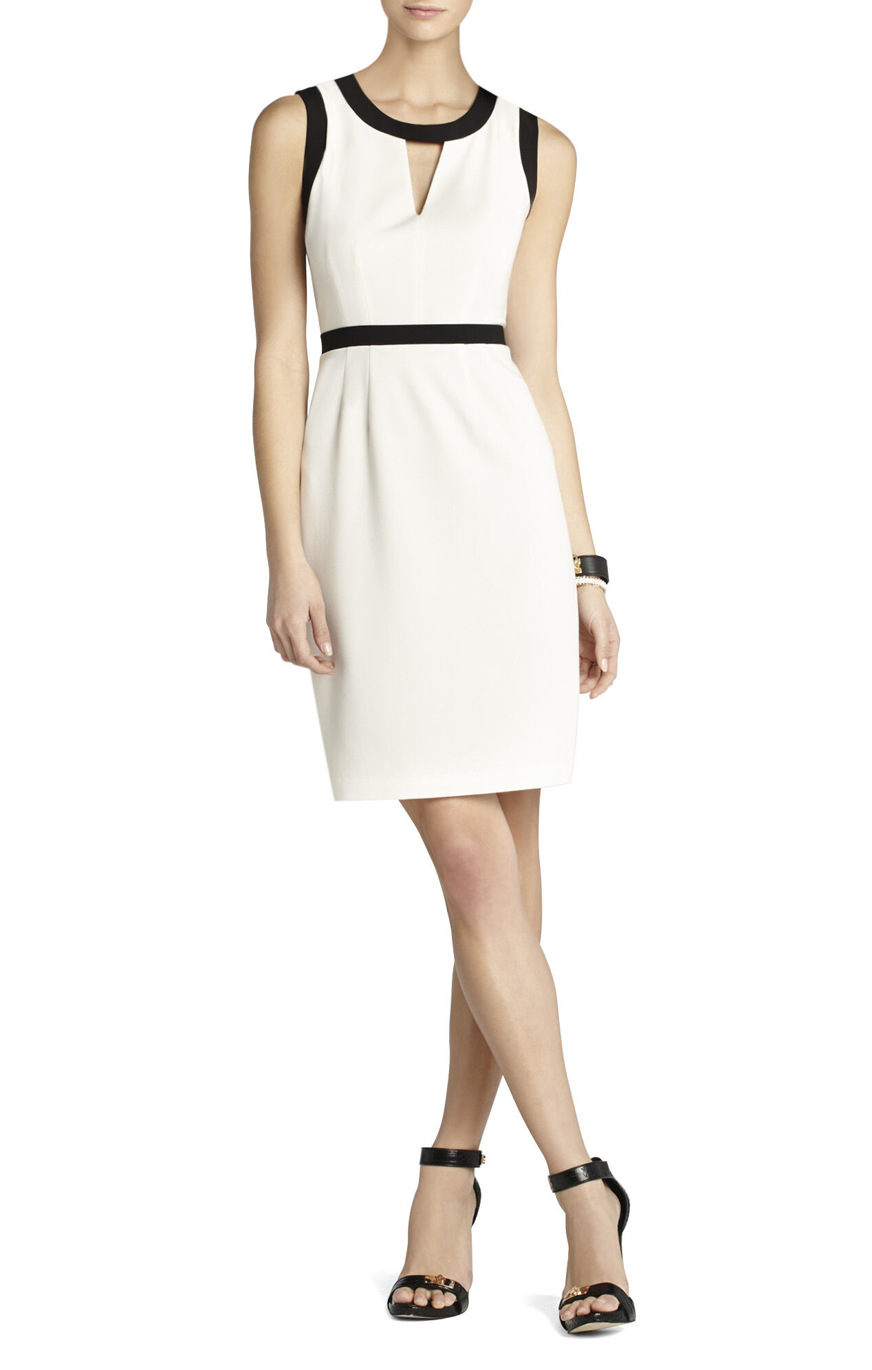 Mollie Cutout Sheath Dress