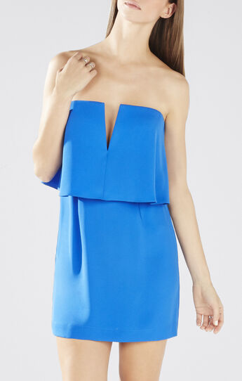 Kate Strapless Overlay Dress
