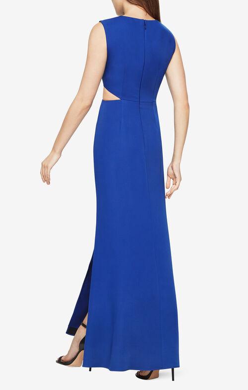 Vivienne Cutout Satin Gown