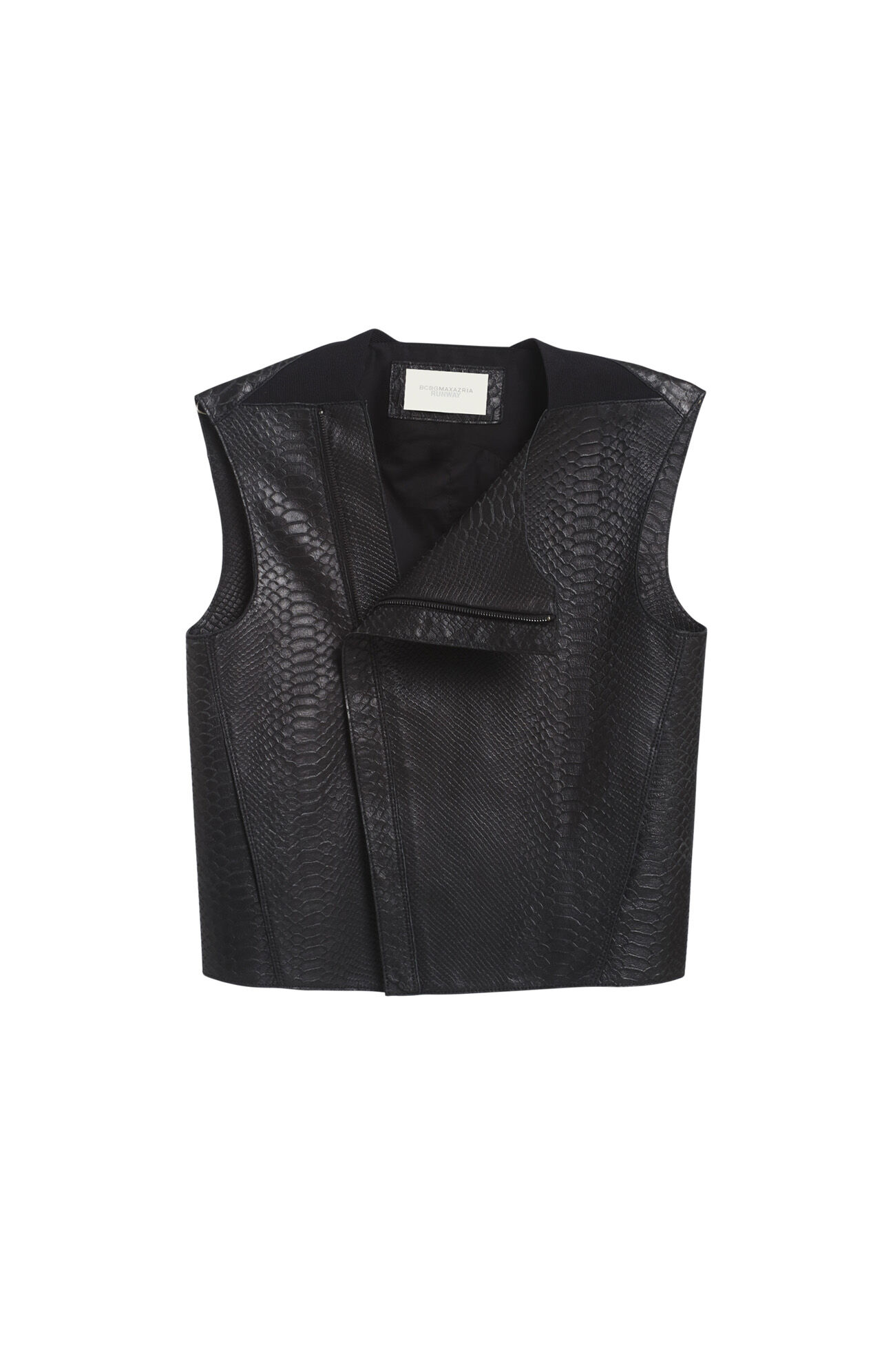 Runway Finn Leather Vest