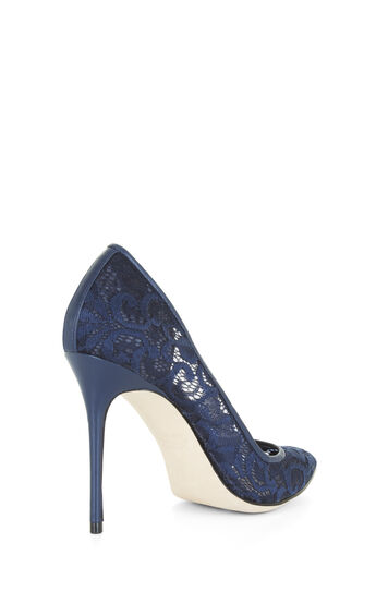 Orien High-Heel Lace Pumps