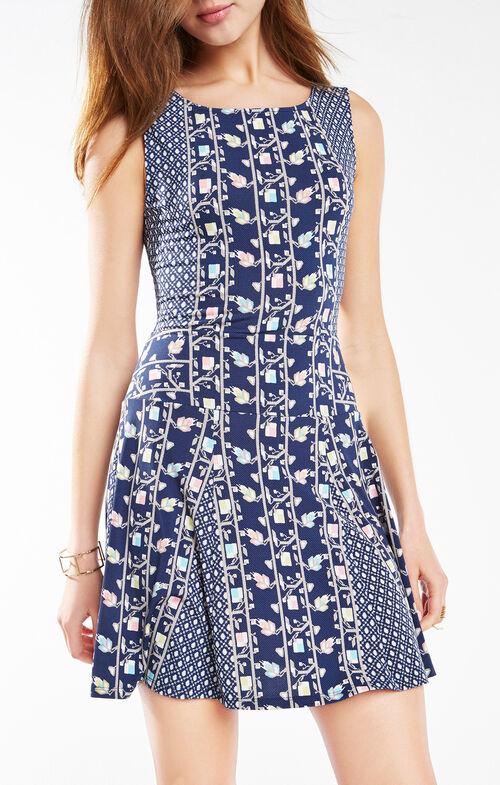 Cory Floral Print Dress