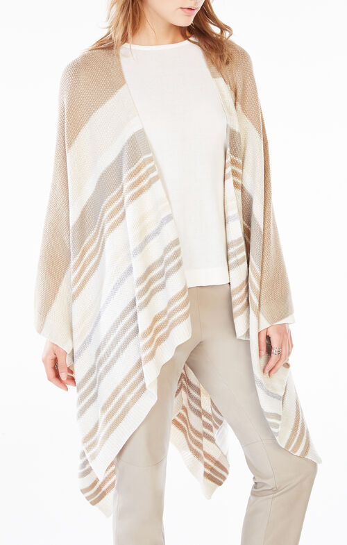 Striped Poncho