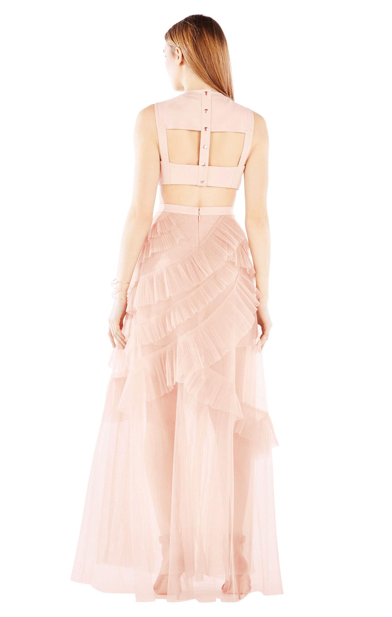 Avalon Sheer Cutout Gown