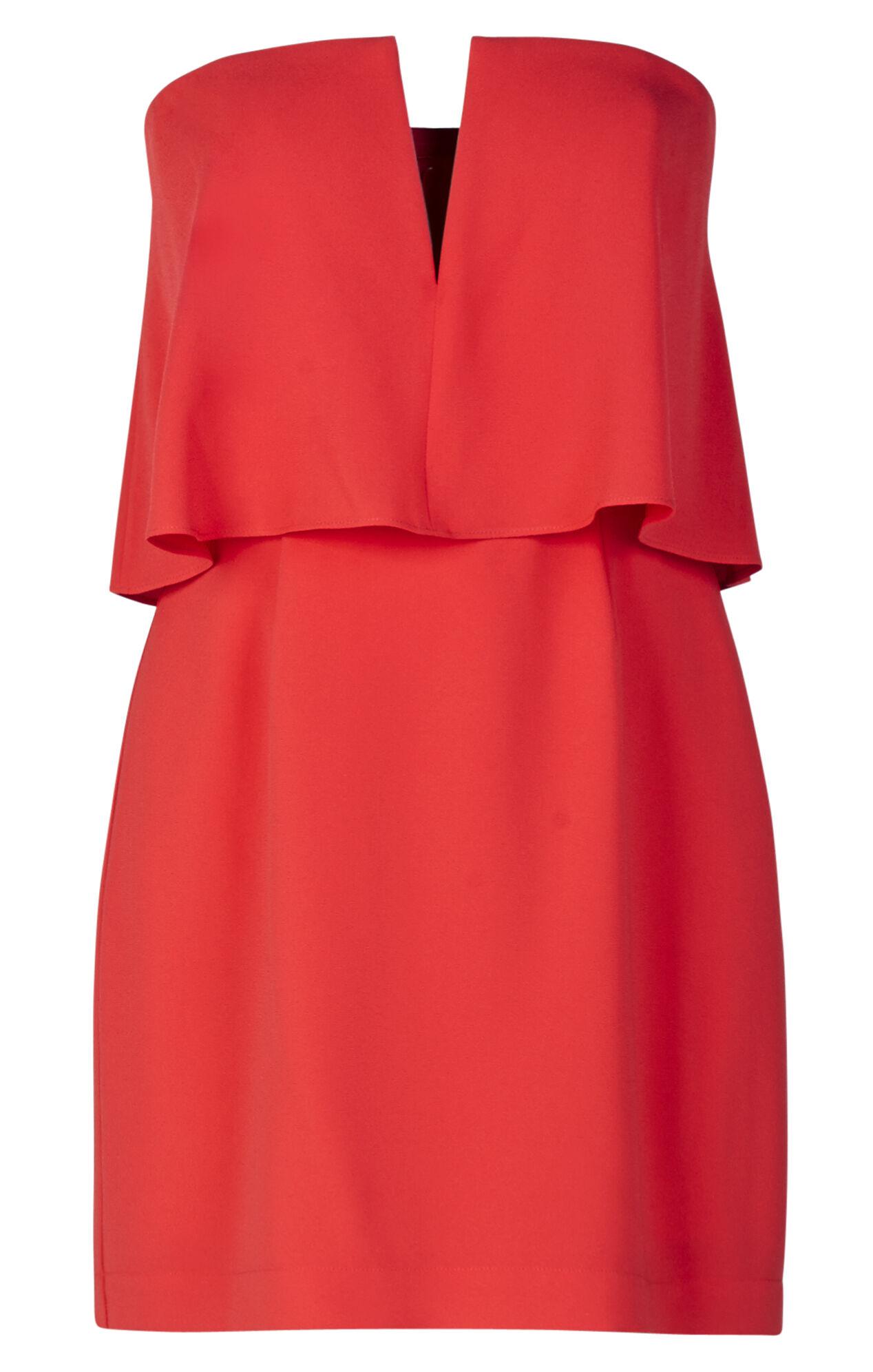 Kate Strapless Overlay Dress