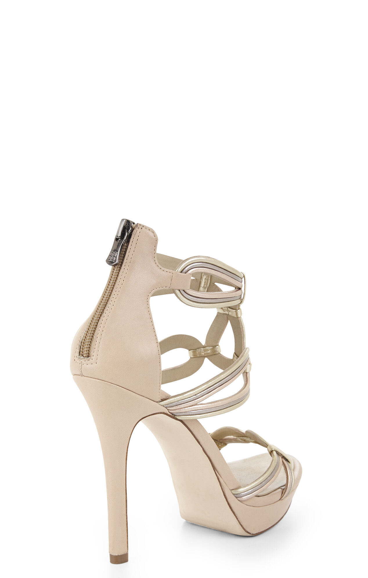 Leigh Corded High-Heel Sandal