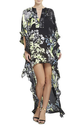 Dameka High-Low Caftan Dress