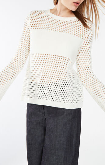 Joeli Mesh Pullover Sweater