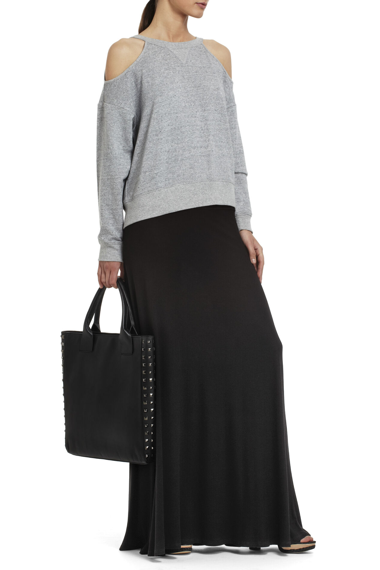 Karolin Wide-Banded Rib Skirt
