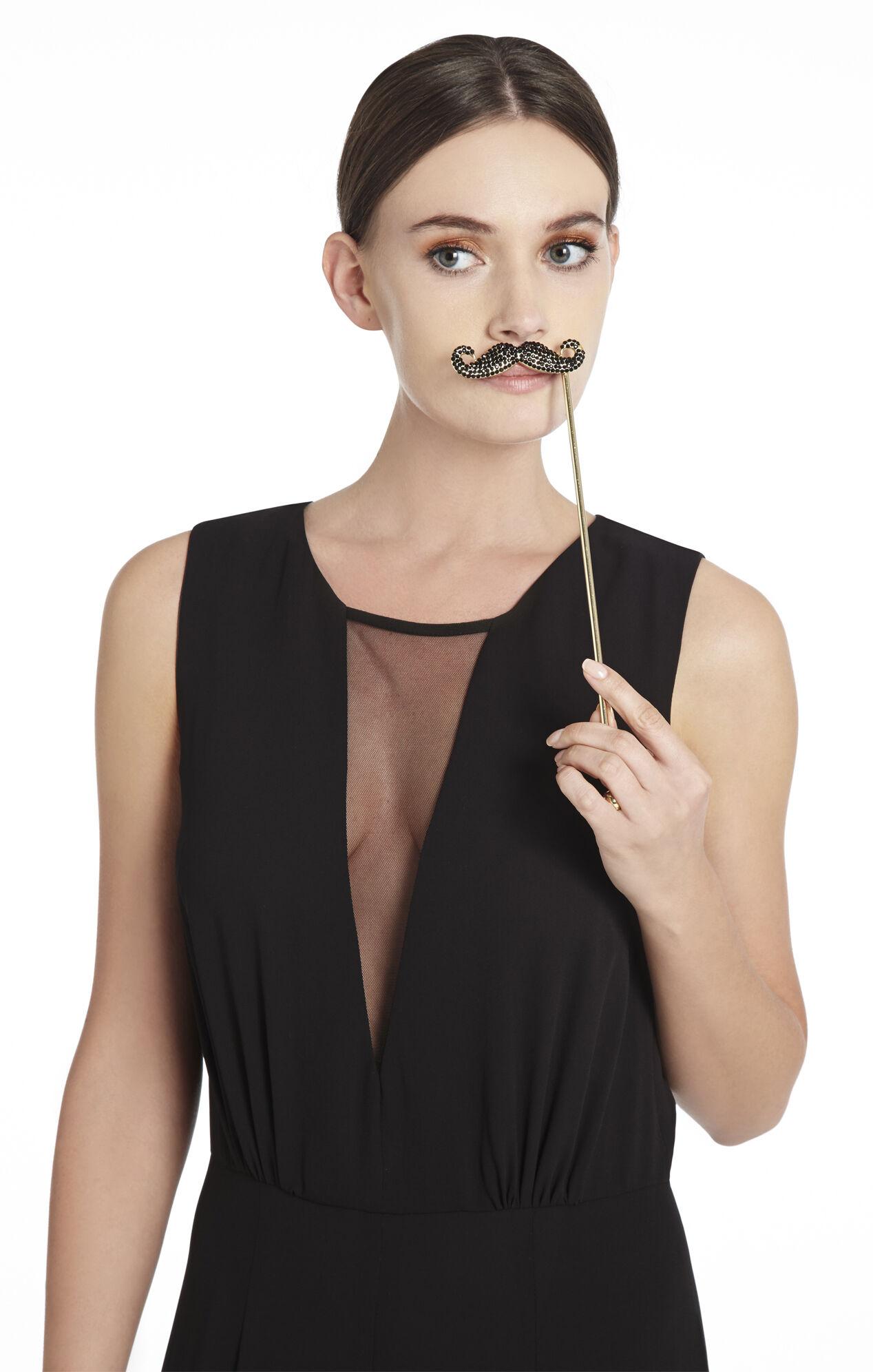 Rhinestone Mustache
