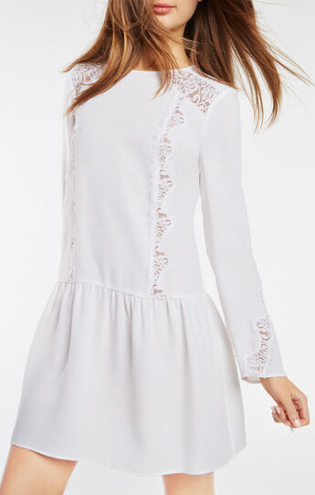 Jayn Lace-Trim Dress